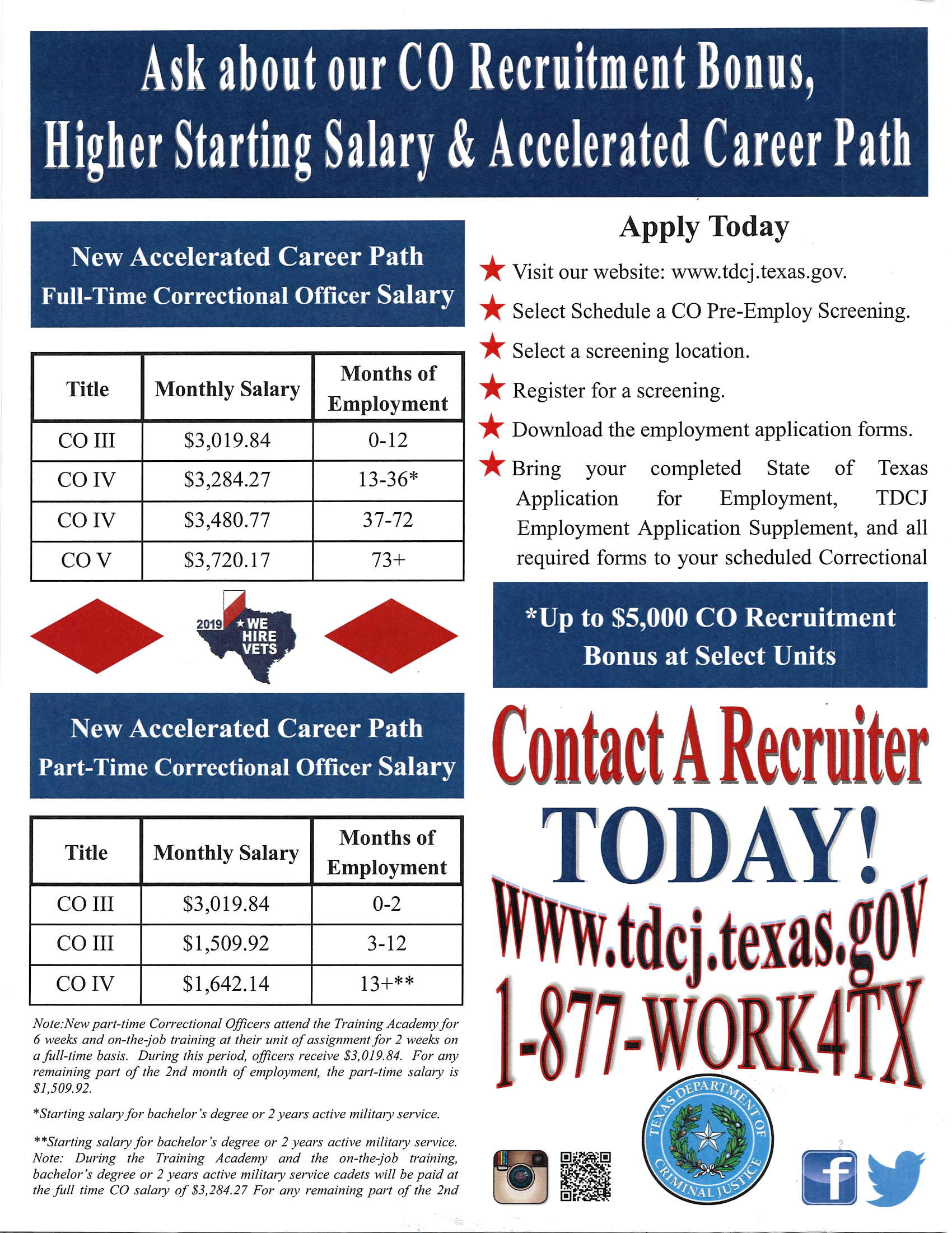 Pay scale Flyer