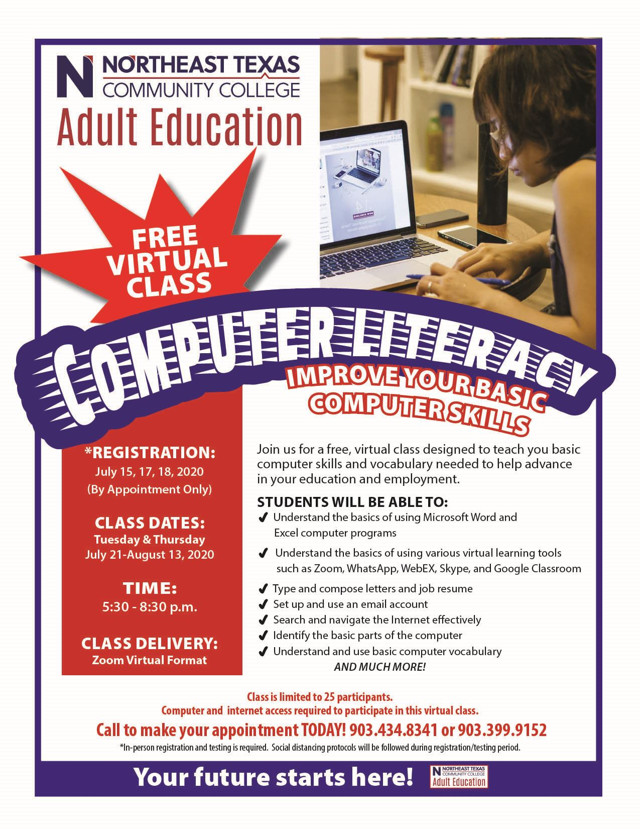 computer literacy flyer -English-July 2020